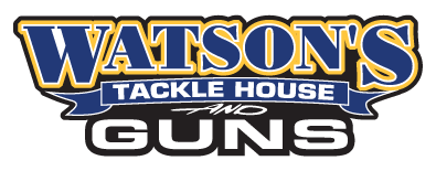Watson's Tackle House and Guns Logo